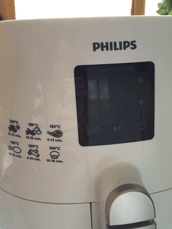 Digitalanzeige des Philips HD923050