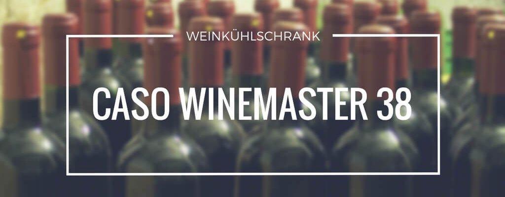 Caso Winemaster 38 – perfekt für Rot und Weiß