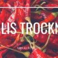 Tricks zu Trocknen von Chilis