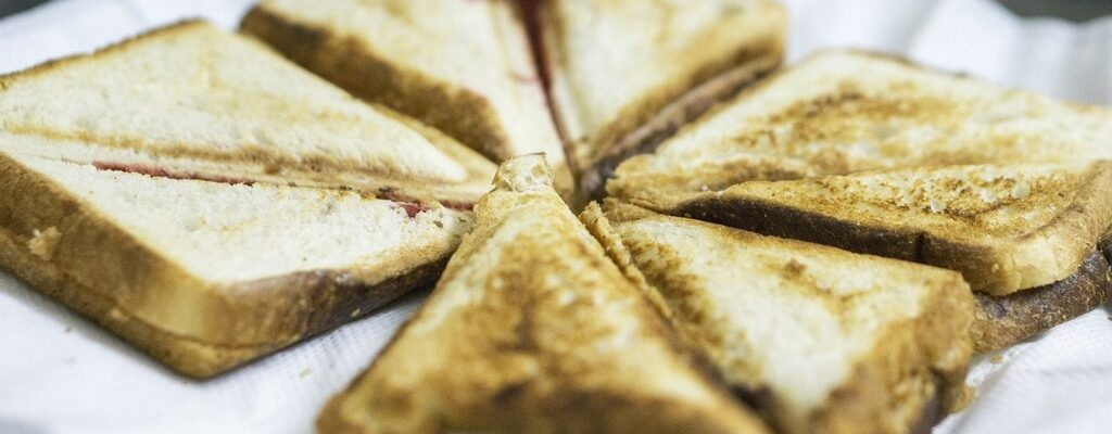 Krabbensandwich