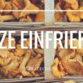 Tipps zum Einfrieren von Pilzen