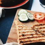 Rezept Ziegenkäse-Sandwich mit Tomaten für den Sandwichtoaster